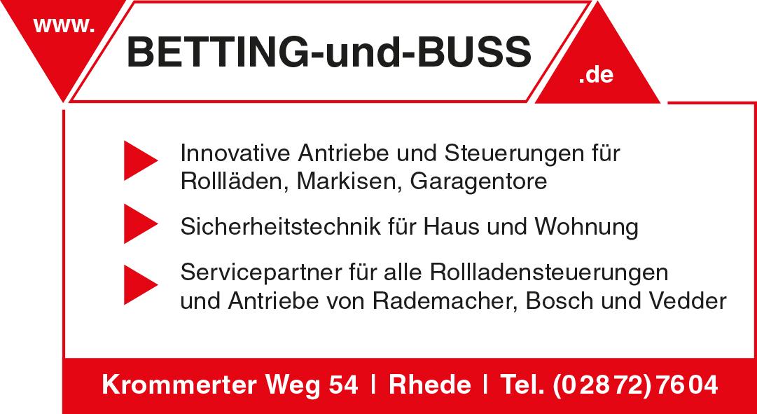 Betting Und Buss Rhede